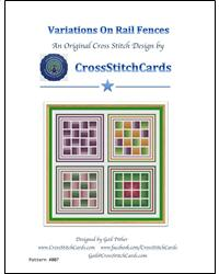 click here to view larger image of Variations on Rail Fences (chart)