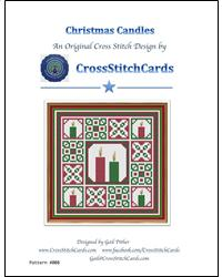 click here to view larger image of Christmas Candles (chart)