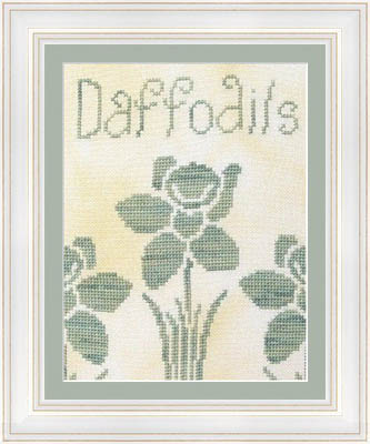 click here to view larger image of Daffodils (chart)
