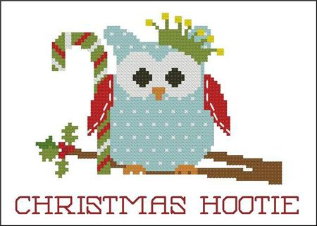 click here to view larger image of Christmas Hootie 002 Crown (chart)