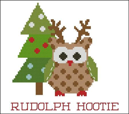 click here to view larger image of Christmas Hootie 003 Rudolph (chart)