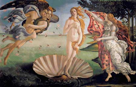 click here to view larger image of Birth of Venus, The (chart)