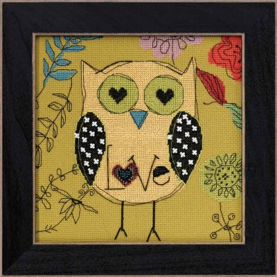 click here to view larger image of Love (2014) (counted cross stitch kit)