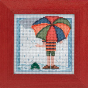 click here to view larger image of Rainy Day (2014) (counted cross stitch kit)