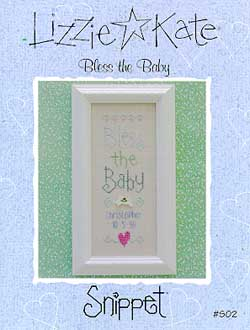 click here to view larger image of Bless the Baby (chart)