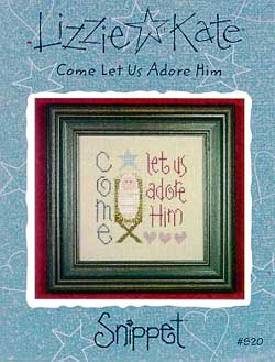 click here to view larger image of Come Let Us Adore Him - Snippet (chart)