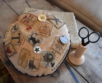 click here to view larger image of Passport Pincushion (chart)