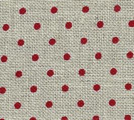 click here to view larger image of Belfast 32ct Petit Point Red / Natural (Zweigart Belfast Linen)