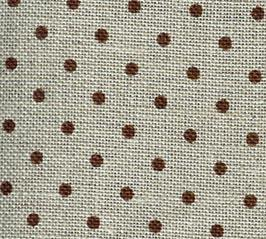 click here to view larger image of Belfast 32ct Petit Point Brown / Natural (Zweigart Belfast Linen)