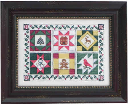 click here to view larger image of Quilt Block Christmas (chart)