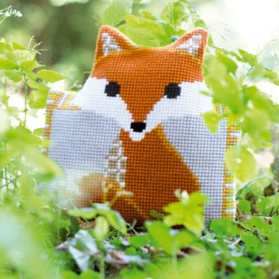 click here to view larger image of Fox (counted canvas kit)