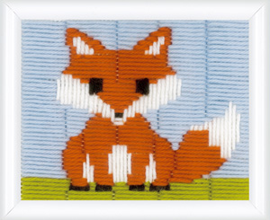 click here to view larger image of Little Fox (counted canvas kit)