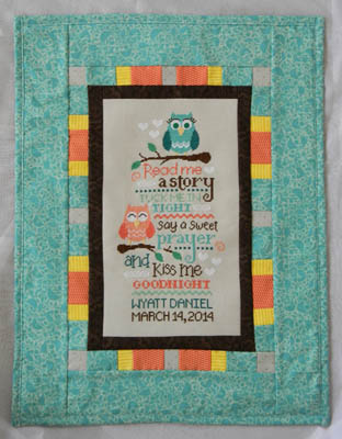 click here to view larger image of Owl Birth Sampler (chart)