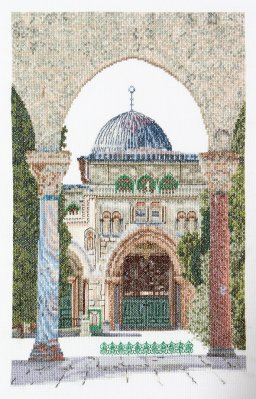 click here to view larger image of Al-Aqsa Mosque (Aida) (counted cross stitch kit)