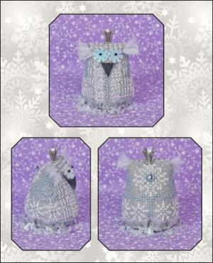 click here to view larger image of Little Princess Snow (includes embellishments) (chart with charms/buttons)