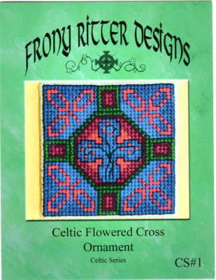 click here to view larger image of Celtic Flowered Cross Ornament (chart)