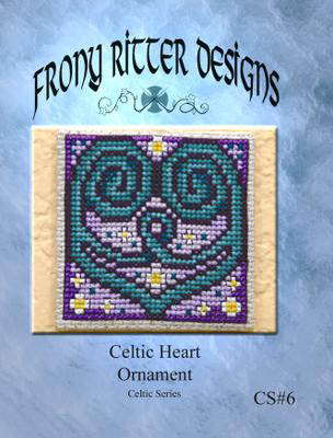 click here to view larger image of Celtic Heart Ornament (chart)
