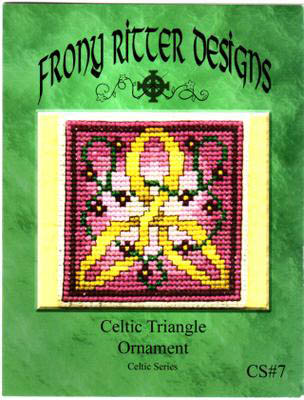 click here to view larger image of Celtic Triangle Ornament (chart)