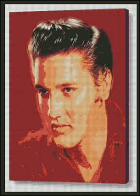 click here to view larger image of Elvis the King (chart)