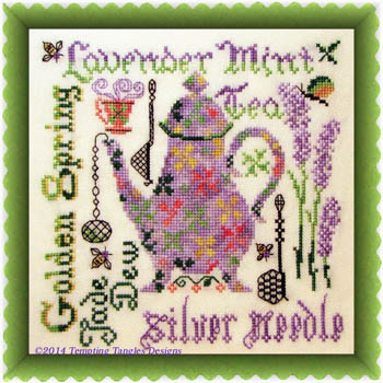 click here to view larger image of Lavender Mint (chart)