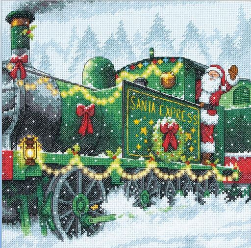 click here to view larger image of Santa Express  (counted cross stitch kit)