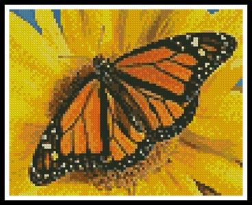 click here to view larger image of Mini Monarch Sunflower (chart)