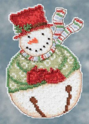 click here to view larger image of Jangle Snowbell (counted cross stitch kit)
