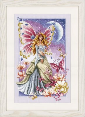 click here to view larger image of Butterfly Fairy (counted cross stitch kit)