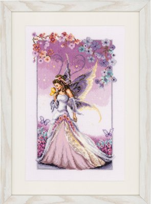 click here to view larger image of Lilac Fairy (counted cross stitch kit)