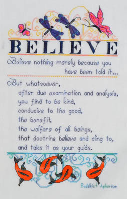 click here to view larger image of Believe (chart)