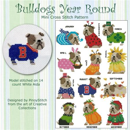 click here to view larger image of Bulldog Year Round (chart)