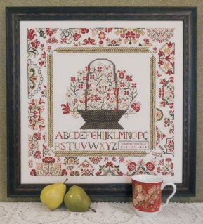 click here to view larger image of Cornwall Cottage Sampler (chart)