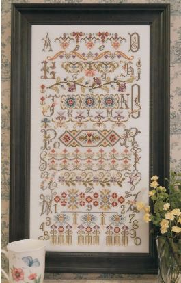 click here to view larger image of Bucklebury Sampler (chart)