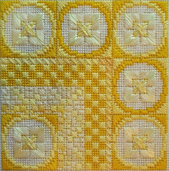 click here to view larger image of Color Delights - Lemon (counted canvas chart)