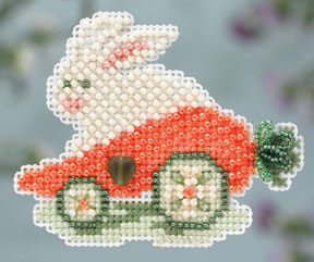 click here to view larger image of Rabbit Ride (counted cross stitch kit)