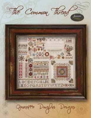click here to view larger image of Common Thread Sampler, The (chart)