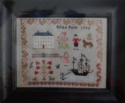 click here to view larger image of Eliza Poole Sampler (chart)