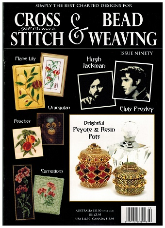 click here to view larger image of Cross Stitch & Bead Weaving Issue #90 (magazines)
