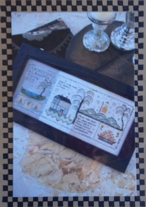 click here to view larger image of Chessie's Make-Do Sampler (counted cross stitch kit)