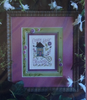 click here to view larger image of Count Your Blessings (counted cross stitch kit)