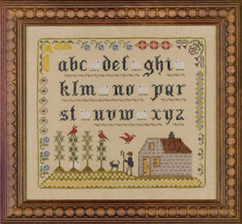 click here to view larger image of Lost Sheep Sampler (chart)