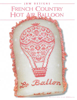 click here to view larger image of French Country Hot Air Balloon (chart)