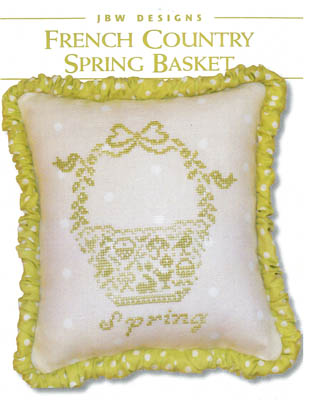 click here to view larger image of French Country Spring Basket (chart)