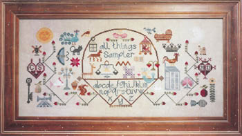 click here to view larger image of All Things Sampler (chart)