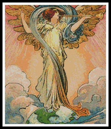 click here to view larger image of Angel of the World (chart)