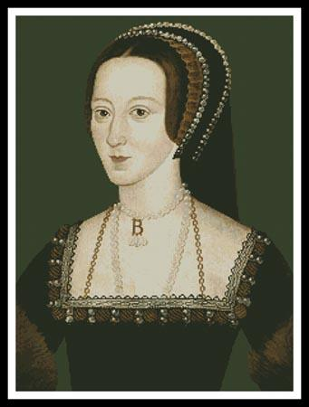 click here to view larger image of Anne Boleyn 2 (chart)