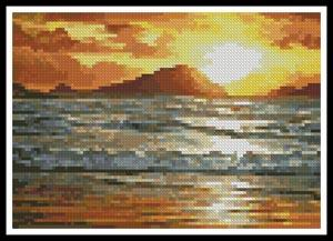 click here to view larger image of Mini Island Sunset (chart)