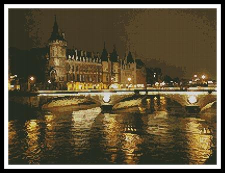 click here to view larger image of Night Bridge (Paris) (chart)