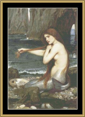 click here to view larger image of John Waterhouse Collection - A Mermaid (chart)