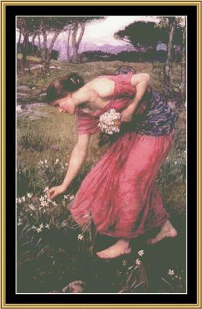 click here to view larger image of John Waterhouse Collection - Narcissus (chart)